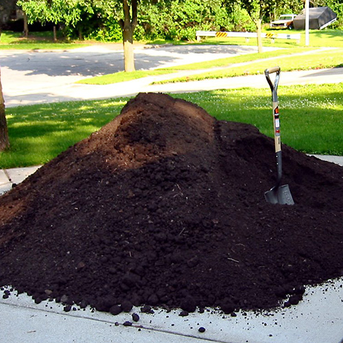 High quality topsoil